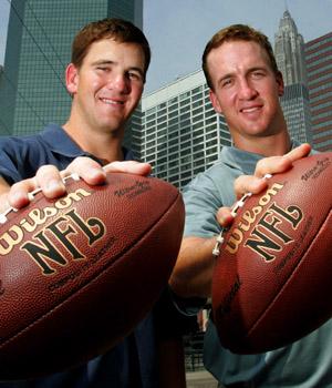 Eli and Peyton Manning