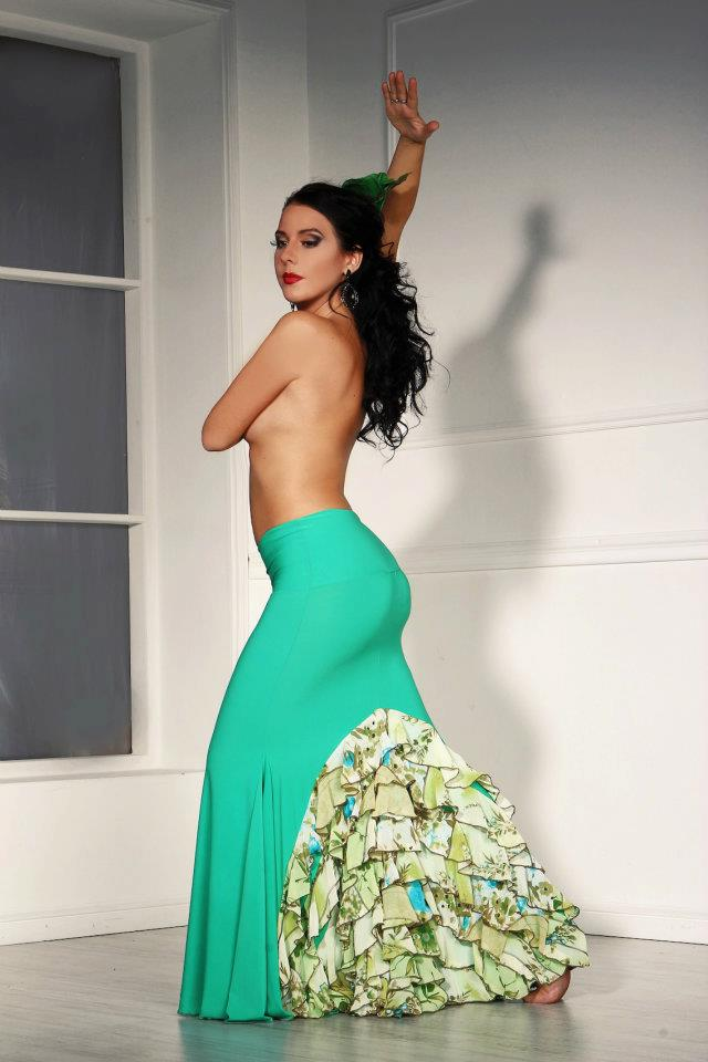Incredible Flamenco costumes for female performers