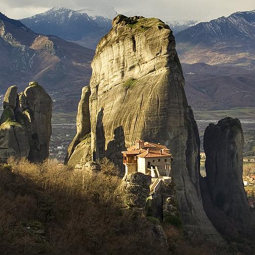 Las Meteoras de Grecia